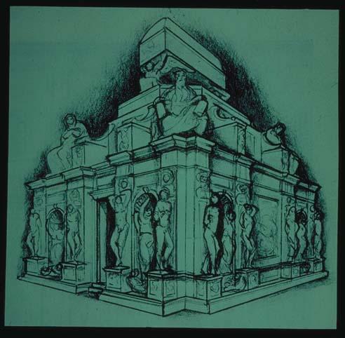 Michelangelo_Reconstruction_Julius_II_tomb_project
