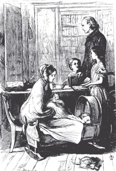 Millais_The_Crawley_Family