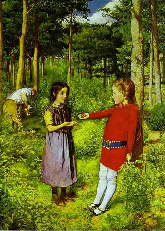 Millais_The_Woodmans_Daughter_1851