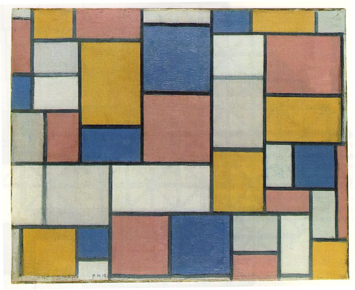 Mondrian_Composition_with_Colour_Planes_and_Grey_1_1918