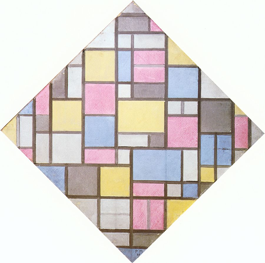 Mondrian_Composition_with_Grid_VII_1919