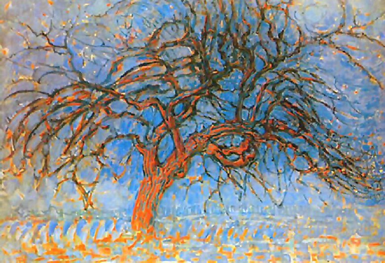 Mondrian_Red_Tree_1908