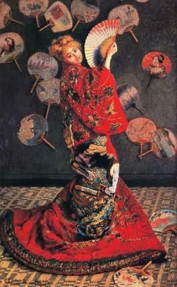 Monet_La_Japonaise_1876