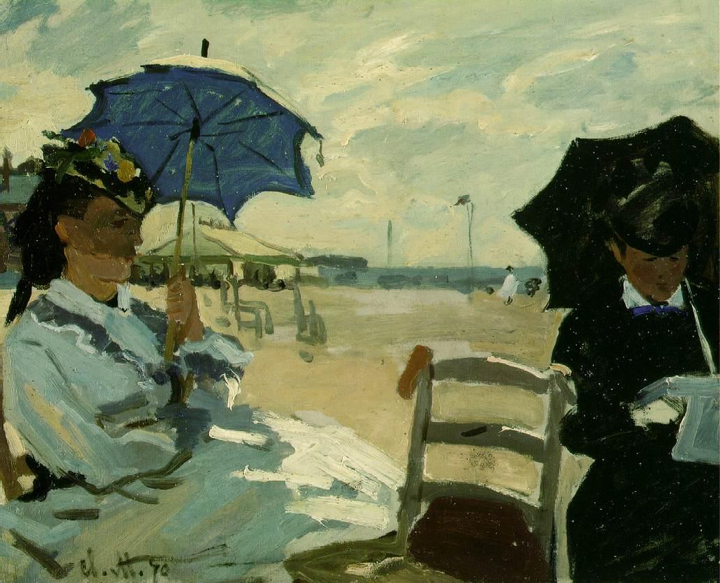 Monet_La_Plage_de_Trouville_1870