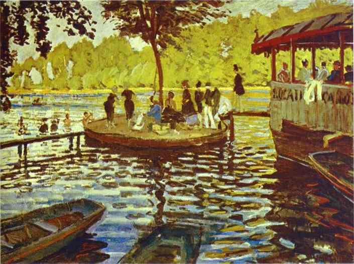 Monet_Le_Grenoillere_1869