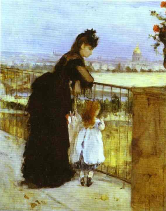 Morisot_On_the_Balcony_1872
