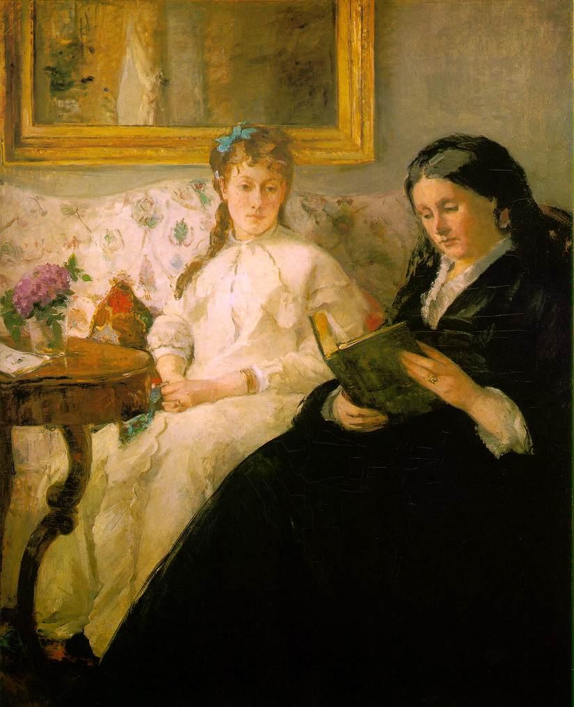 Morisot_Reading_1869-70