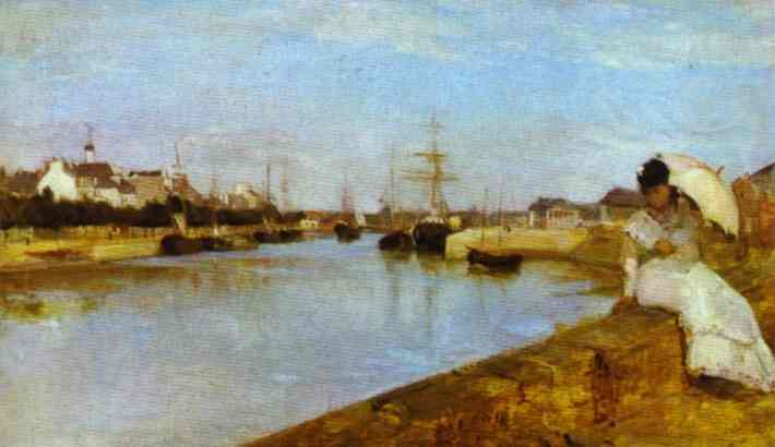 Morisot_The_Harbour_at_Lorient_1869