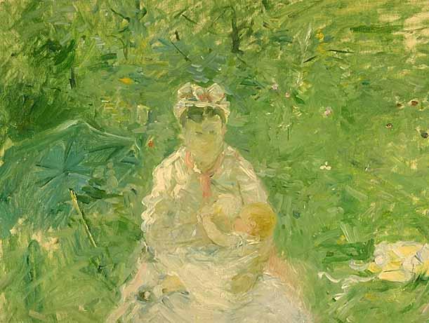 Morisot_The_Wet_Nurse_1880