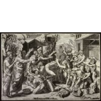 Musi_Agostino_The_Death_of_Ananais_after_Raphael