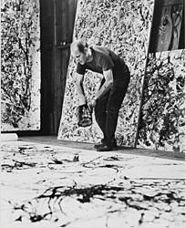 Namuth_photo_of_Jackson_Pollock_in_his_studio