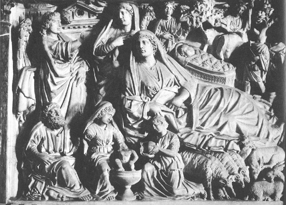 Nicola_Pisano_Pisa_pulpit_Annunciation