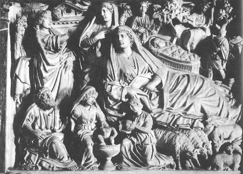 Nicola_Pisano_Pisa_pulpit_Nativity