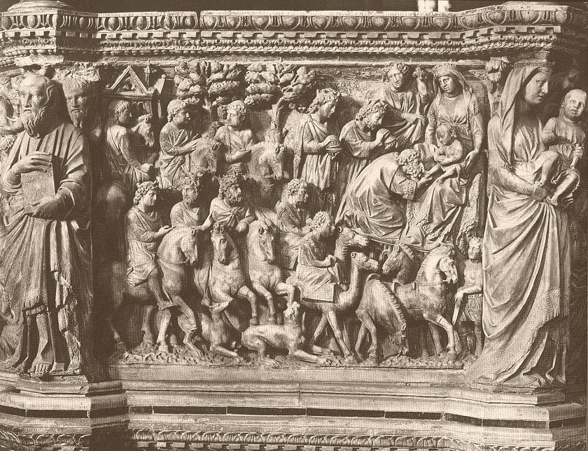 Nicola_Pisano_Siena_pulpit_Adoration