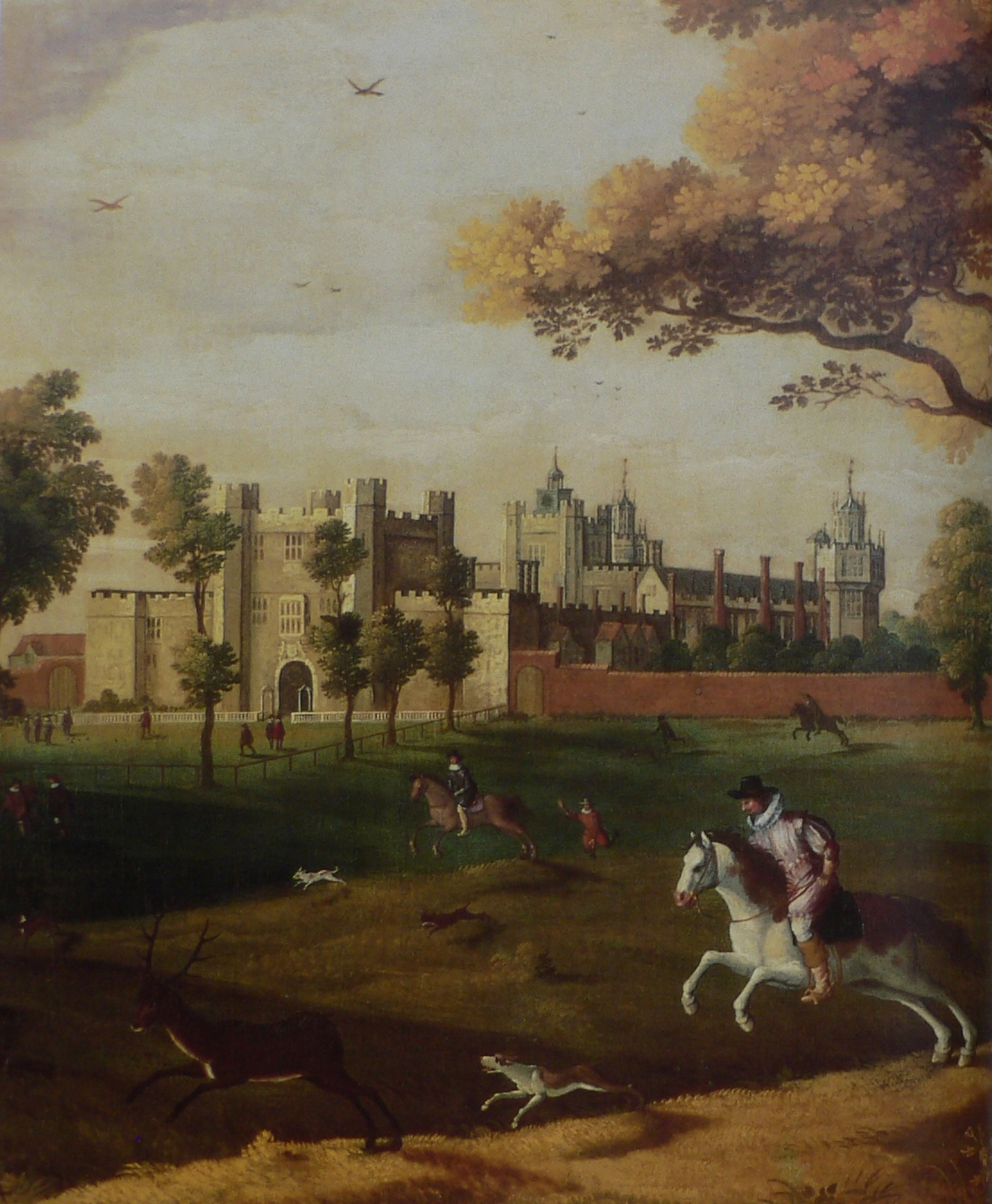 Nonsuch Palace c1620