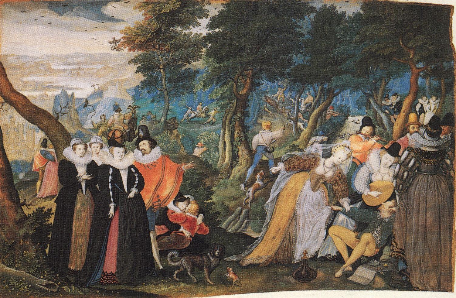 Oliver An Allegorical Scene c1590-5