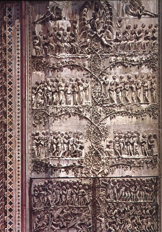 Orvieto_Duomo_Fourth_Pillar_The_Last_Judgement