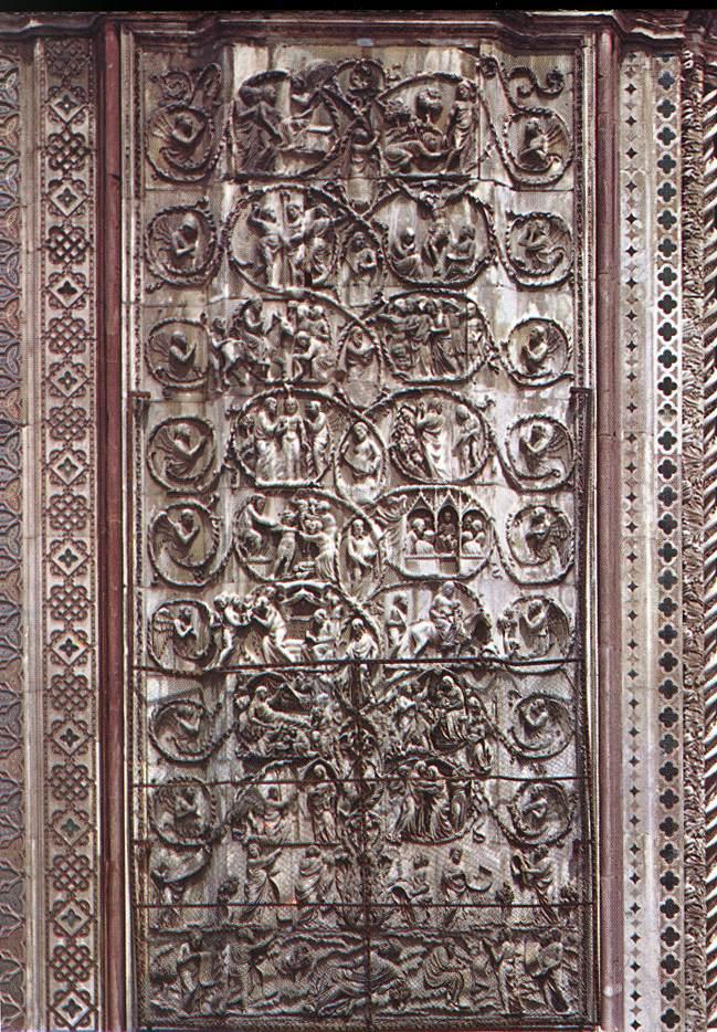 Orvieto_Duomo_Third_Pillar_Stories_of_the_New_Testament