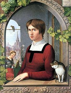Overbeck_Portrait_of_Franz_Pforr_1810