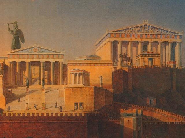 Parthenon_Painting_Leo_Von_Klenze_in_1846