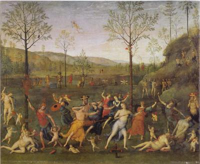 Perugino_Battle_of_Love_and_Chastity_1505