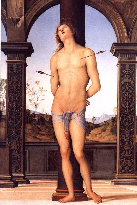 Perugino_St_Sebastian_1495