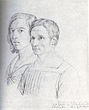 Peter_Cornelius_Friederich_Overbeck_Double_Friendship_Portrait_drawing_1812