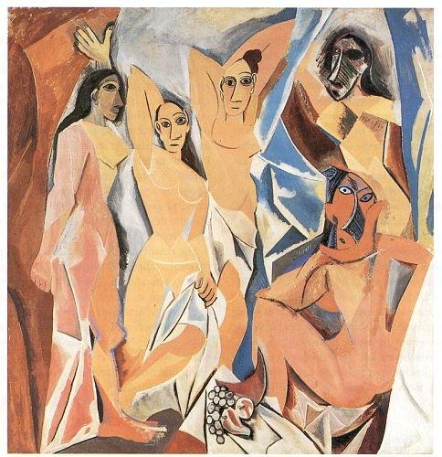 Picasso_Demoiselles_dAvignon_1907