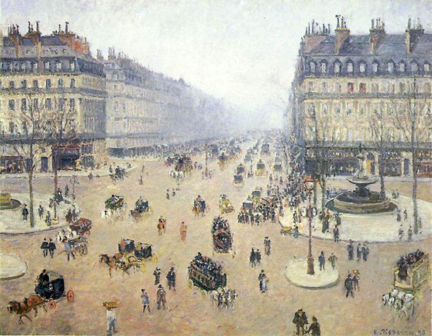 Pissarro_Avenue_de_lOpera_1898