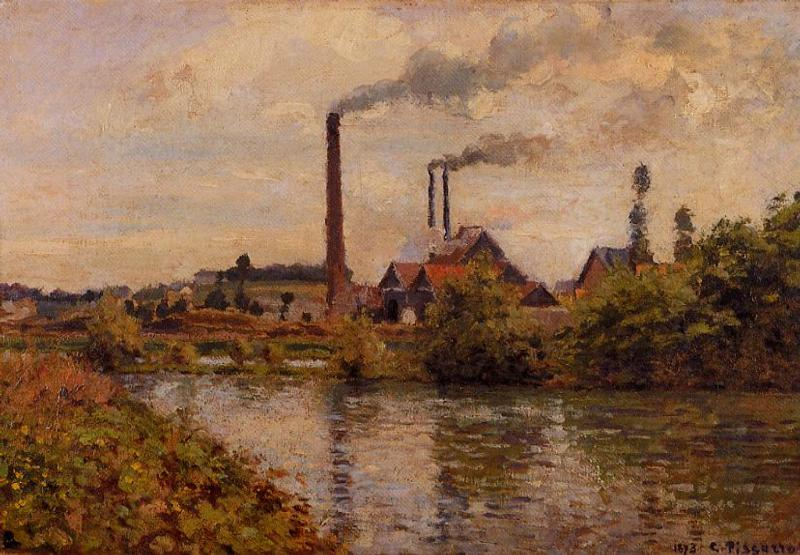 Pissarro_Factory_near_Pontoise_1873
