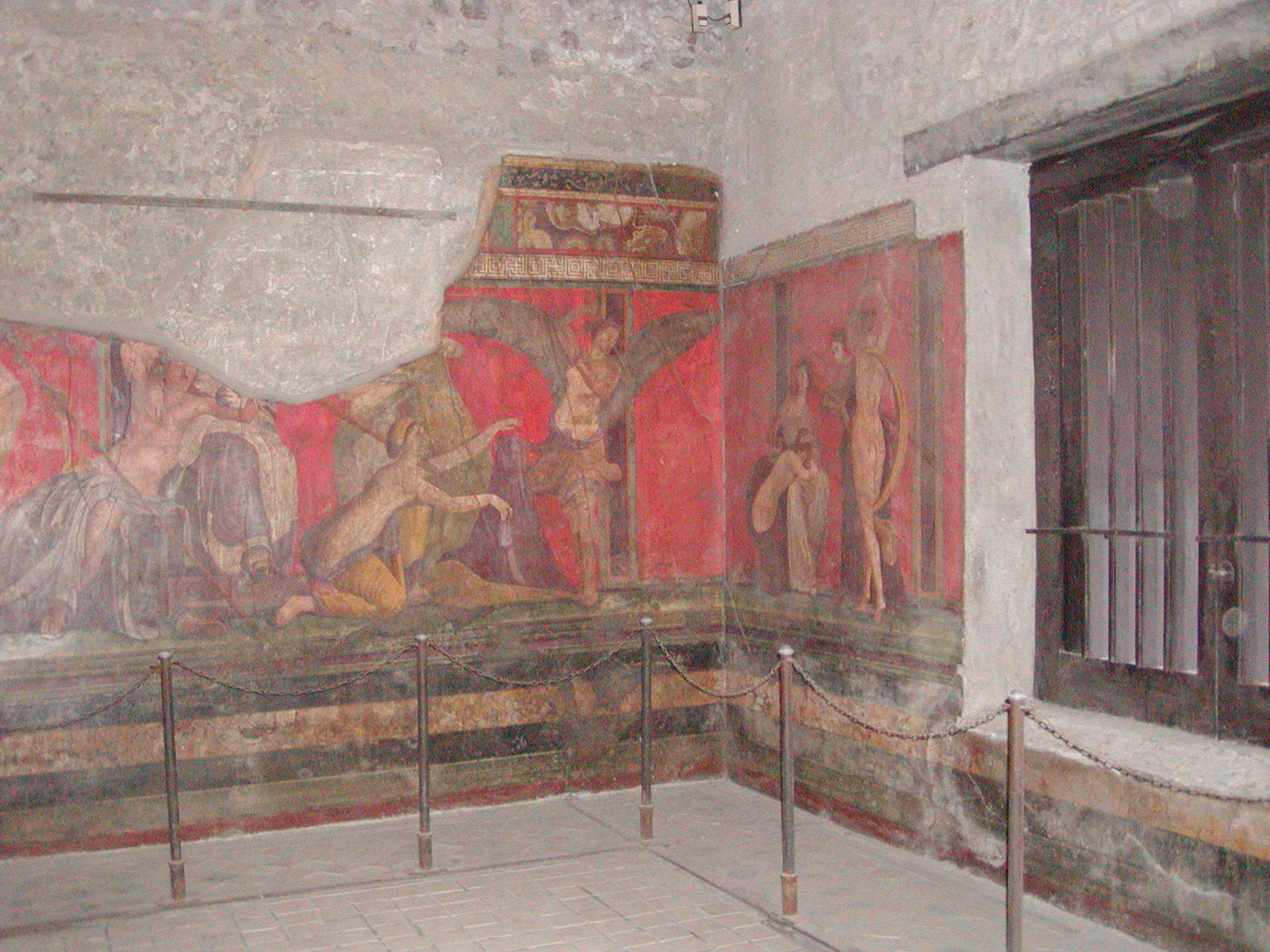the villa of the mysteries stylistic Dionysian cult cycle (), villa of mysteries, before 79 ce, fresco, pompeii, speakers: dr beth harris and dr steven zucker created by beth harris and steven zucker.