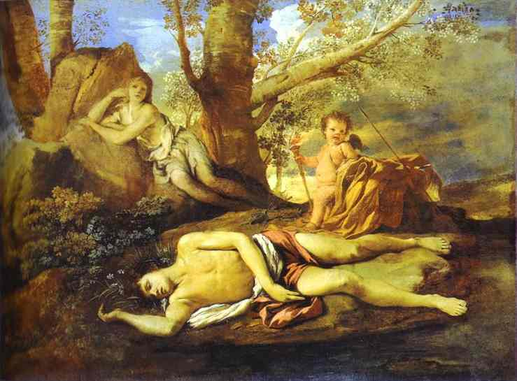 Poussin_Echo_and_Narcissus_1627-28