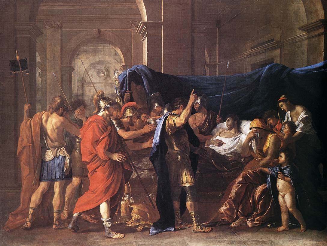 Poussin_The_Death_of_Germanicus_1627
