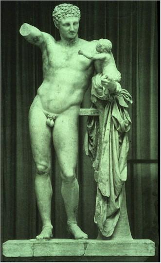 Praxiteles_Hermes_and_Dionysos