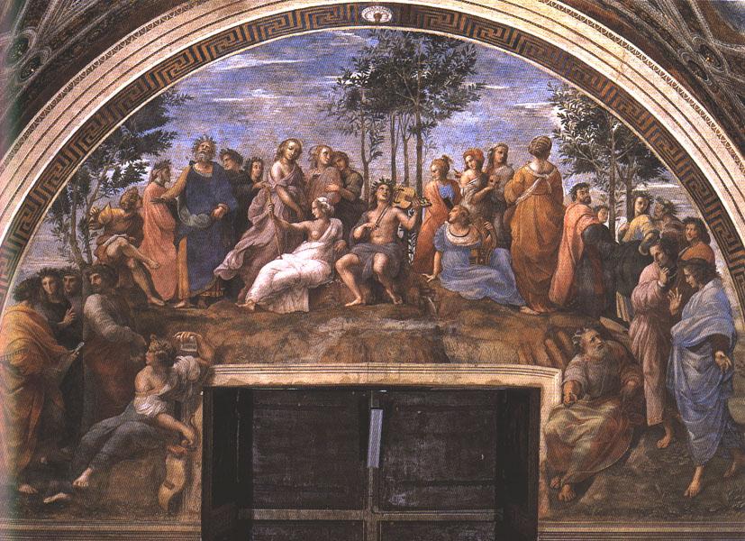 Raphael Parnassus 1510-11