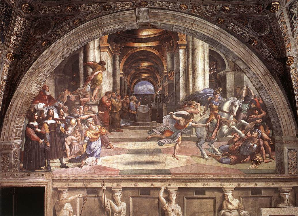 Raphael_The_Expulsion_of_Heliodorus