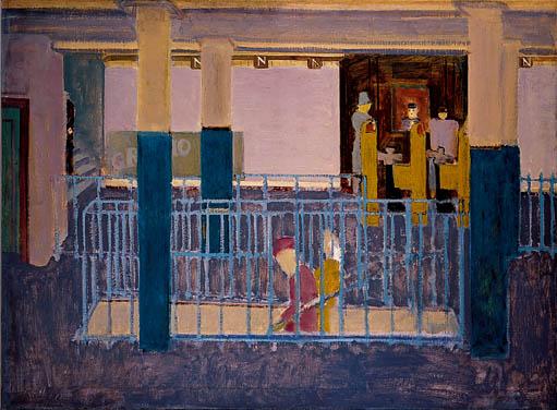 Rothko_Subway_Scene_1938