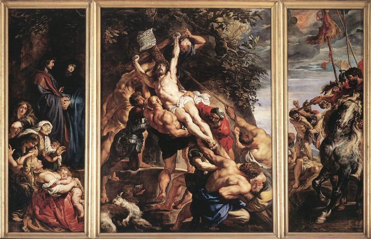 Rubens_Raising_of_the_Cross_1610