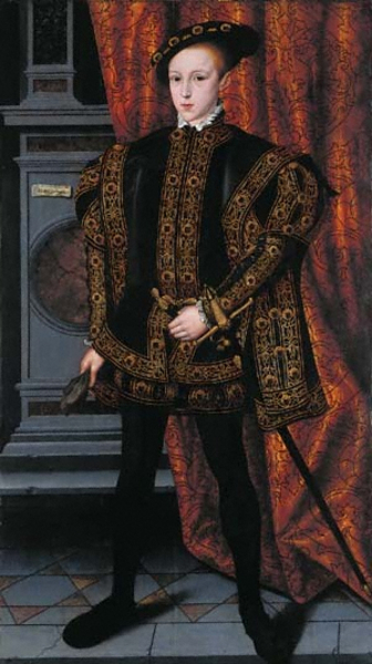 William Scrots, Edward VI, 1550