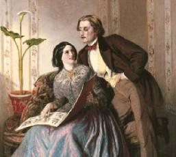 Solomon_Fashionable_Couple_1854