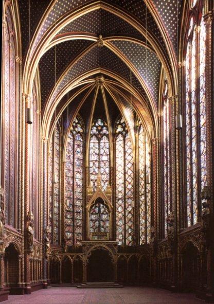 Sainte Chapelle Paris Interior C1243 8