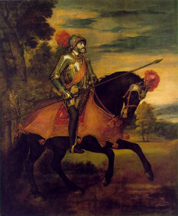 Titian Charles V on Horseback 1548