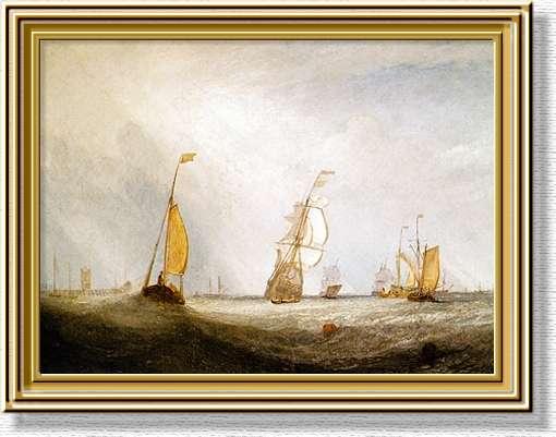 Turner_Helvoetsluys_1832