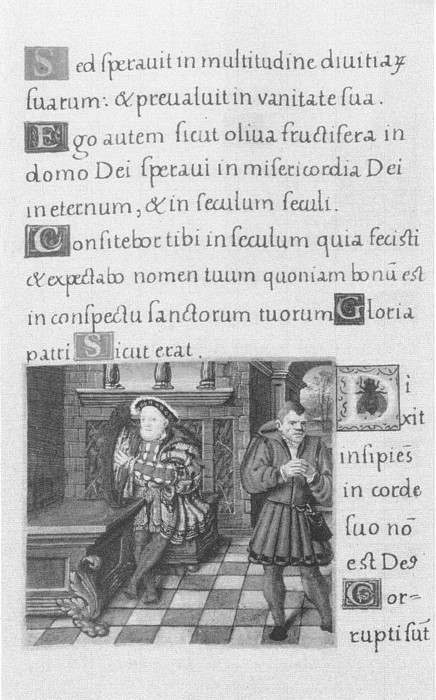 Unknown Henry VIII and Fool Sumer 1538-47