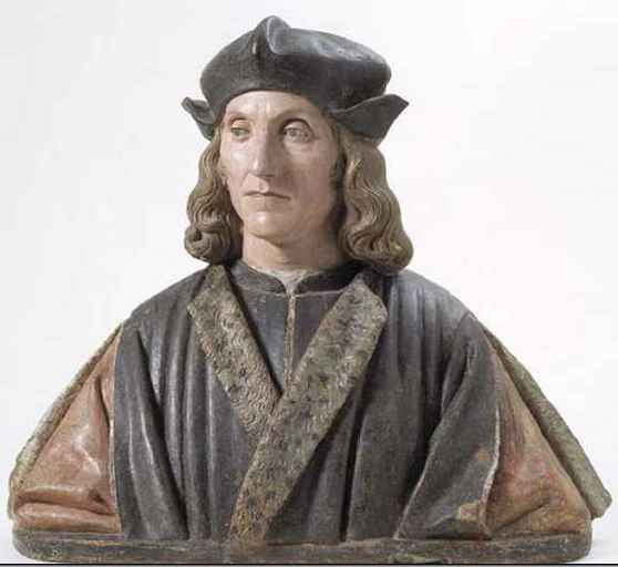 Unknown Italian bust of Henry VII