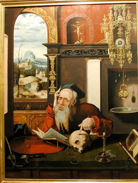 van Cleve St Jerome 1524-30