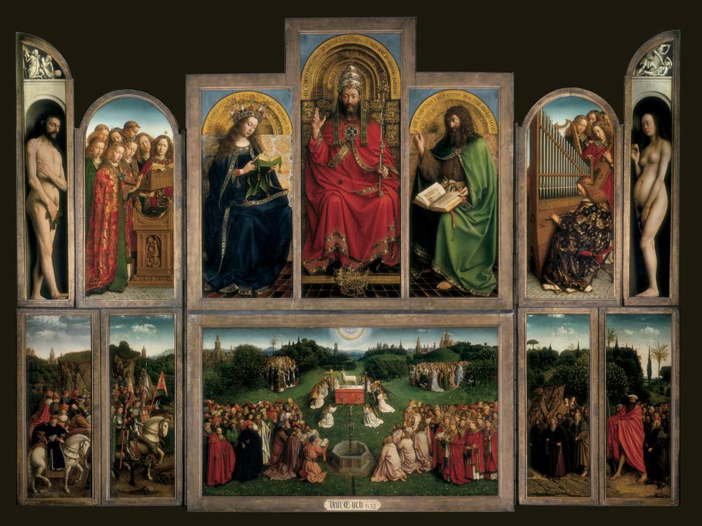 Van_Eyck_The_Ghent_Altarpiece_1432