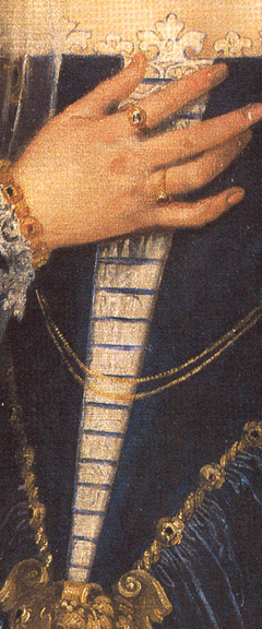 Veronese Portrait of a Lady detail