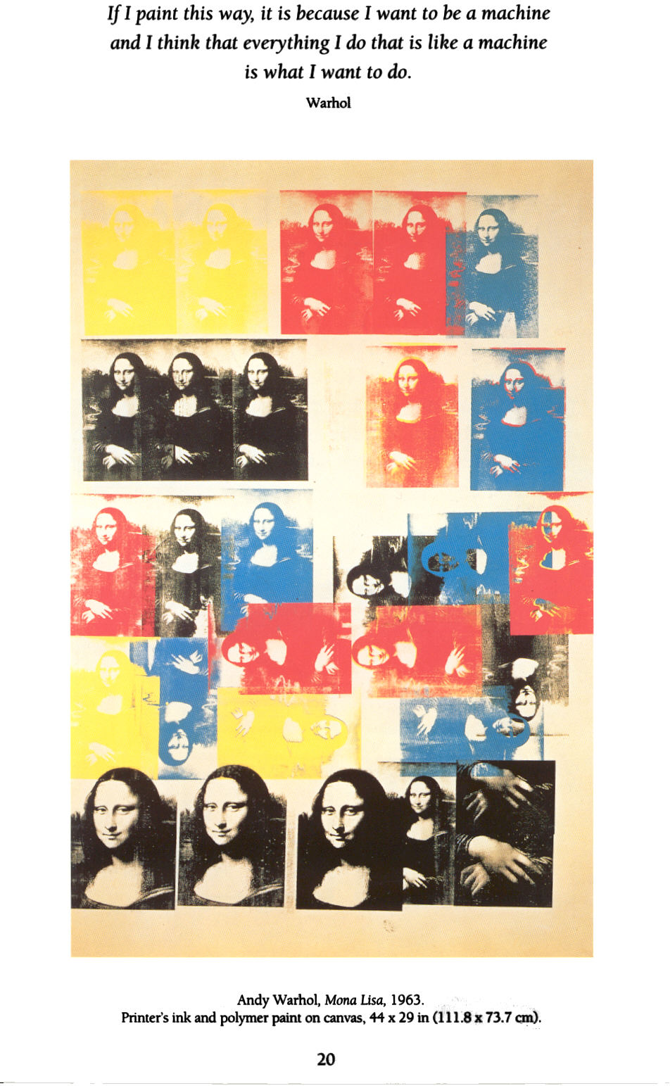 Warhol_Mona_Lisa_1963