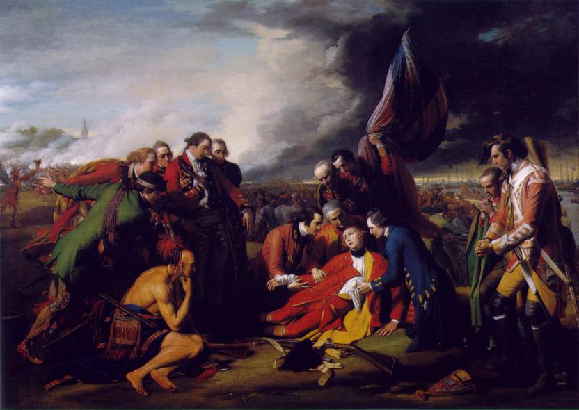 West_The_Death_of_General_Wolfe_1770